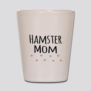 Hamster Mom Shot Glass