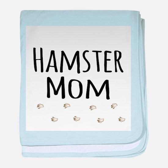 Hamster Mom baby blanket