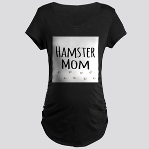 Hamster Mom Maternity T-Shirt