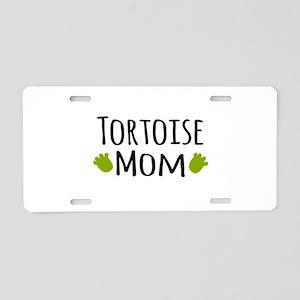 Tortoise Mom Aluminum License Plate