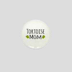 Tortoise Mom Mini Button