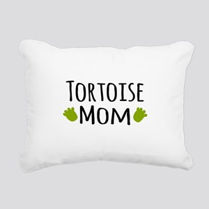 Tortoise Mom Rectangular Canvas Pillow