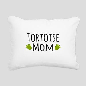 Tortoise Mom Rectangular Canvas Pillow