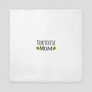 Tortoise Mom Queen Duvet
