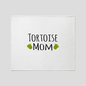 Tortoise Mom Throw Blanket