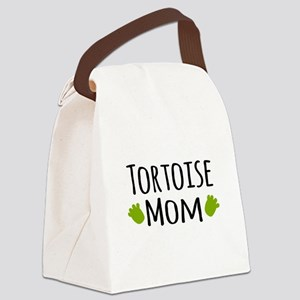 Tortoise Mom Canvas Lunch Bag