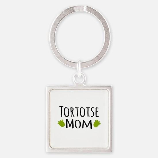 Tortoise Mom Keychains