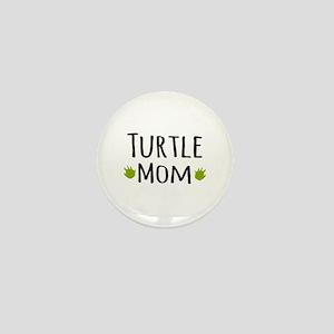 Turtle Mom Mini Button