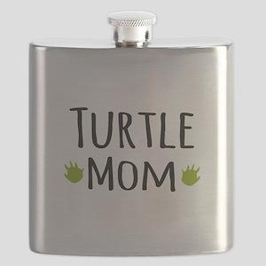 Turtle Mom Flask