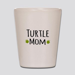 Turtle Mom Shot Glass