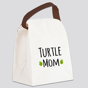 Turtle Mom Canvas Lunch Bag