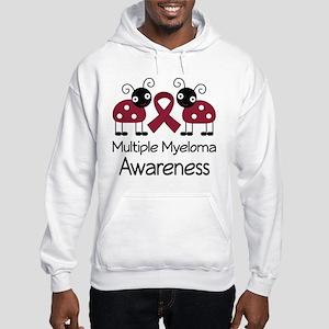 Multiple Myeloma ladybug Hooded Sweatshirt