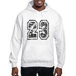 Number 23 Hooded Sweatshirt