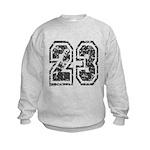 Number 23 Kids Sweatshirt