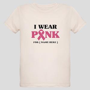 Breast Cancer Cause Organic Kids T-Shirt