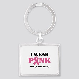 Breast Cancer Cause Landscape Keychain