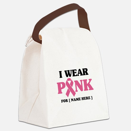 Breast Cancer Cause Canvas Lunch Bag
