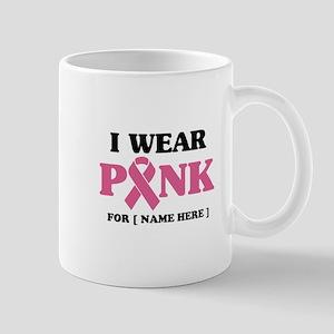 Breast Cancer Cause 11 oz Ceramic Mug