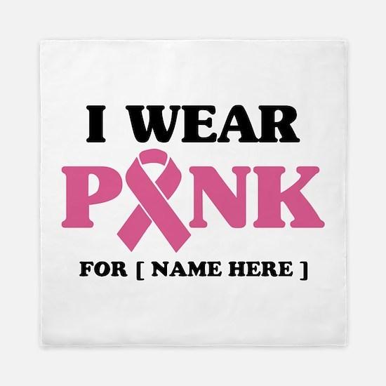 Breast Cancer Cause Queen Duvet