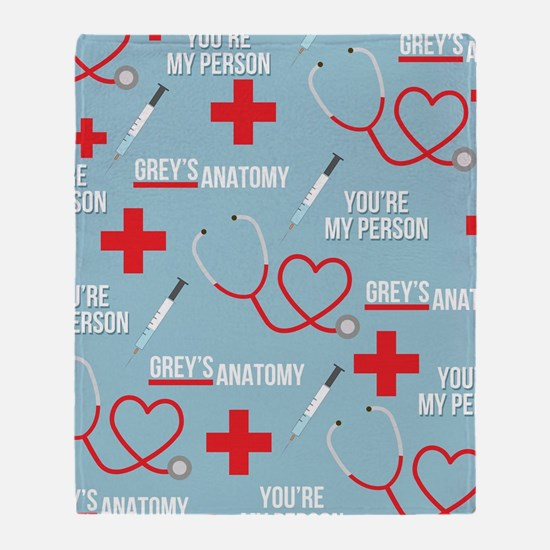 Grey's You're My Person Throw Blanket