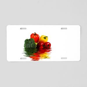 Medley of vegetables Aluminum License Plate