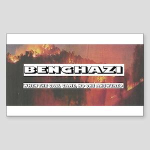 Benghazi sticker Sticker