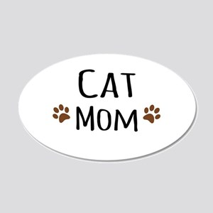 Cat Mom Wall Decal