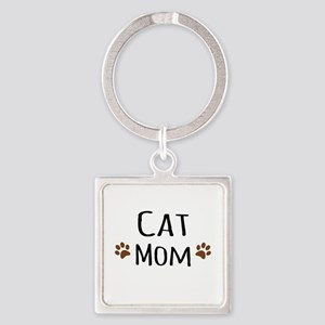 Cat Mom Keychains