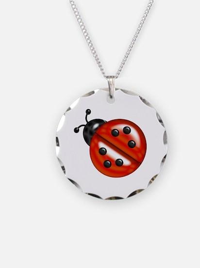 Cute Ladybug Necklace
