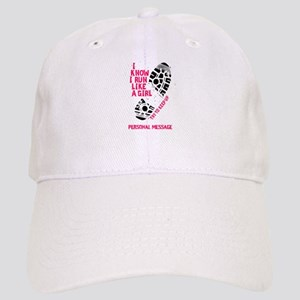 Personalized Runner Girl Cap