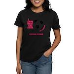Personalized Soccer Girl Women's Dark T-Shirt
