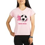 Personalized Soccer Girl Performance Dry T-Shirt