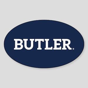 Butler Sticker (Oval)
