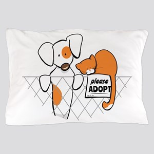 Adopt Pets Patch Rusty Pillow Case
