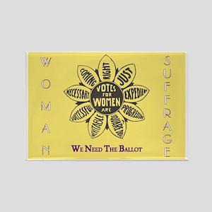 Woman Suffrage Emblem Magnets