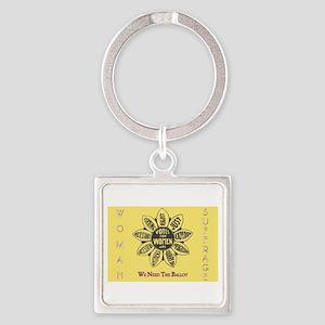 Woman Suffrage Emblem Keychains
