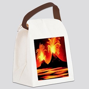 Nature-Beauty Extreme (2)SQ Canvas Lunch Bag
