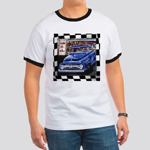 Checkered Old Truck T-Shirt