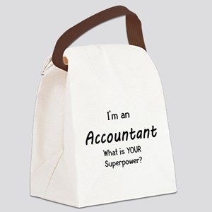 accountant Canvas Lunch Bag