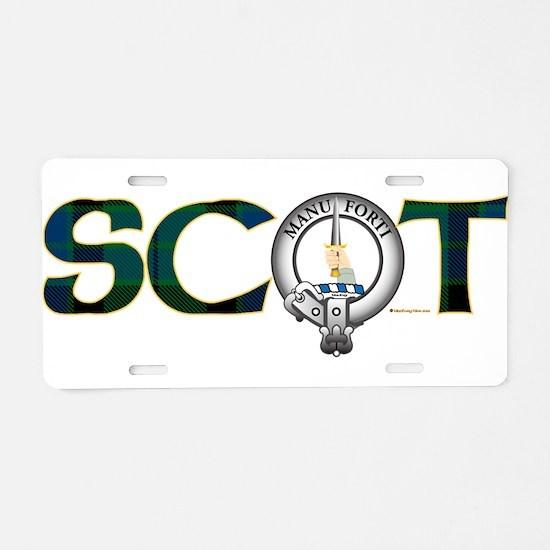 MacKay Clan Aluminum License Plate