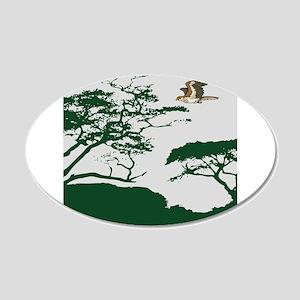 Flying Eagle Wall Sticker