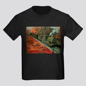All Aboard Train Calender T-Shirt