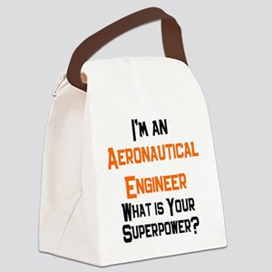 aeronautical engineer Canvas Lunch Bag