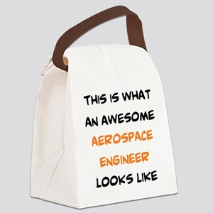 awesome aerospace Canvas Lunch Bag