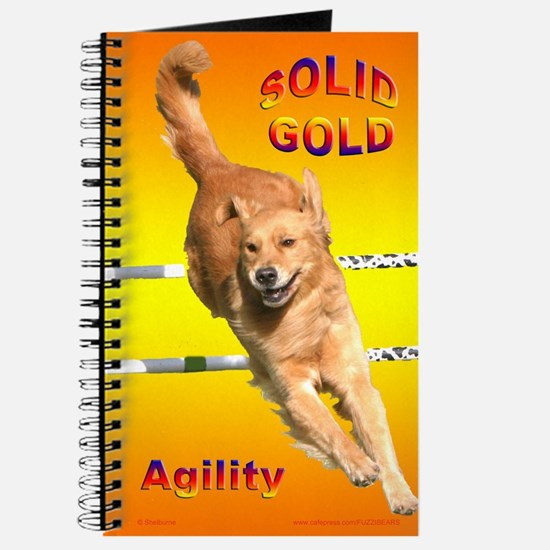 Golden Retriever Journal Agility