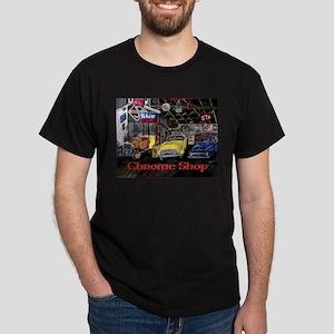 Chrome Shop Old Car Calender T-Shirt