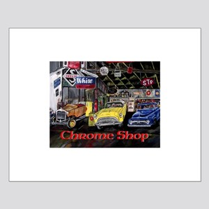 Chrome Shop Old Car Calender Posters