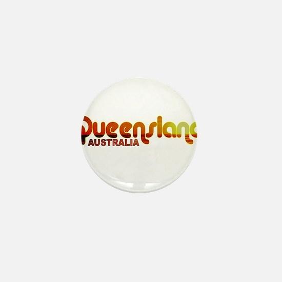 Queensland, Australia Mini Button