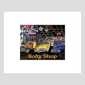 Classic Car Body Shop Calender Posters