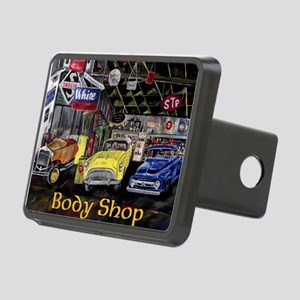 Classic Car Body Shop Calender Hitch Cover
